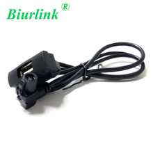 Car USB Cable Audio Input Adapter For Volkswagen Skoda Radio RCD510 RCD310 RNS315(China)