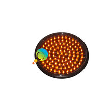 Factory direct price yellow led flashing 300mm traffic light led module