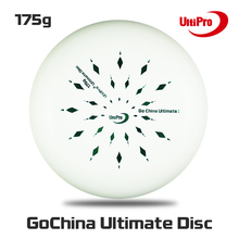 WFDF Approved Free Shipping 175g Professional  Ultimate Disc  UltiPro Ultimate Frisbee Nebula Green