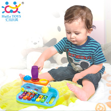 2017 Cheap Baby Toys Xylophone Musical Toys Knocking On Piano with Balls and Hammer Baby Music Educational Toys Instrument  Gift