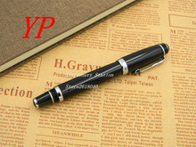 Black diamonds twisted black office writing silver Trim ROLLERball PEN