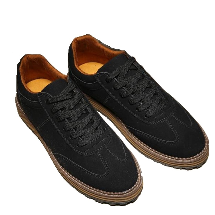 New Arrival Spring Men Casual shoes Suede leather Lace Up Flats wear resistant Male Fashion Breathable shoes 022<br><br>Aliexpress