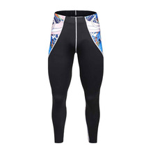 Mens Compression Pants joggers Tights Compression Fitness Pants Men Bodybuilding Professional Skinny Leggings Trousers
