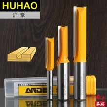 "Double Flute Straight Arden Router Bit Slotted Knife Metric Flute Straight Bit - 1/4*1/4 - 1/4"" Shank - Arden A0102014"