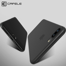 CAFELE Micro Scrub Case For iPhone 7 cases Translucent Ultra Thin 0.4mm Flexibility Anti-knock Cover For iPhone 7 Plus case