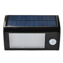 Led Solar Light Waterproof Solar 28 LED Garden Light Motion Sensor Wall Lamp Cool White Auto ON/OFF For Outdoor Fence Yard Roof(China)