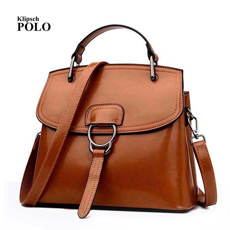 New Arrival 2017 Brand Genuine leather Women Handbag Soft Leather Fashion Shoulder Bag Large capacity Casual Women Bag<br>