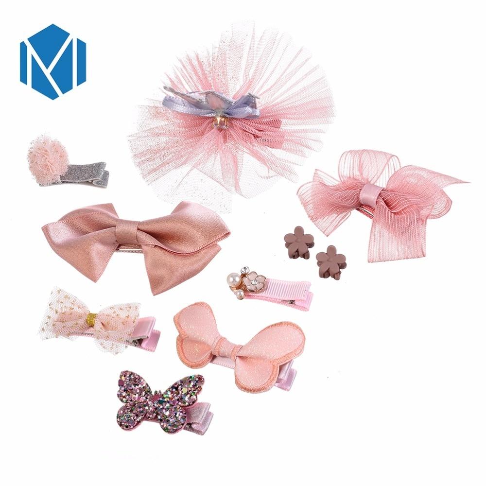 M Mism Newborn Kids Hairclip Cute Childrens Butterfly Shape Headwear Sequins Hair Accessories Hairpins Barrettes Para El Cabello Back To Search Resultsmother & Kids Hair Accessories