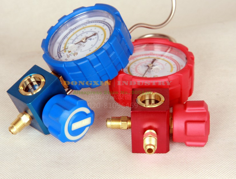 Value Collision Proof  Single Gauge With Liquid Visible VMG-1-S-H  For Kinds of Refrigeration like R22 R41O R134A and so on<br><br>Aliexpress