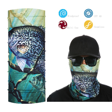 Fishing Face Shield Bandana Outdoor Sports Elastic Neck Gaiter Sun Protection Face Mask(China)