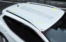 For Nissan Qashqai J11 2014 2015 2016 Silver! Roof Rack Side Rails Bars Luggage Carrier(China)