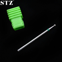 STZ 1PCS Metal Nail Art Bit Bit Finger Nail Cuiticle Cleaning Cutter Electric Nail File Polish Beauty Manicure Sets D030T(China)