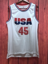EJ Donald Trump 45 USA Basketball Jersey 2016 Commemorative Edition White all stitched
