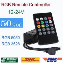 20 Keys Music Voice Sensor Controller Sound IR Remote Control Practical Home Party RGB 3528 5050 LED Strip light RGB Controlers
