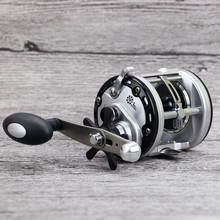 Right Hand Drum Reel Snakehead Lure Cast Wheel Bait Casting Reels Big Game Boat Fishing(China)