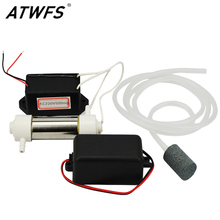 ATWFS 1Set Portable Ozone Generator 220v 500mg Air Purifier for Home Water Treatment Water Air Sterilizer Cleaner Ozone Machine