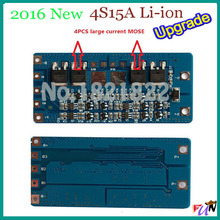 4S 15A BMS PCM PCB li-Ion  battery protection board for high current application,  electronic tools, electronic sprayer