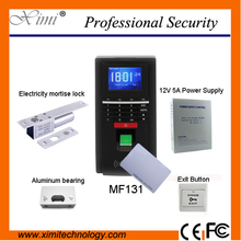 Fingerprint 125KHz RFID reader password keyboard + Electricity mortise lock fingerprint access control system toolkit MF131