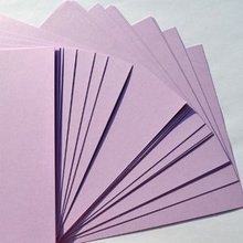 100PCS/LOT.Lavender paper blank cards. DIY crafts.Drawing toys.Kindergarten crafts.KIds toys.Scrapbooking kit.15.5x10.8cm(China)