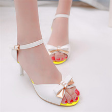 Hot Diamond butterfly fish mouth high-heeled shoes,women high-heeled sandals