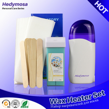 Hedymosa Wax Heater Set Hair Removal Epilator 110V/220-240V Shaving Machines * 1 + Wax * 1 + Depilation Paper * 20 + Wood * 5(China)