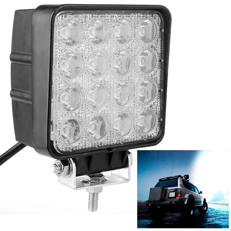 48W 4000lm LED Work Light for Indicators Motorcycle Driving Offroad Boat Car Tractor Truck 4x4 SUV ATV Flood 12V IP67 SUVs Light<br><br>Aliexpress