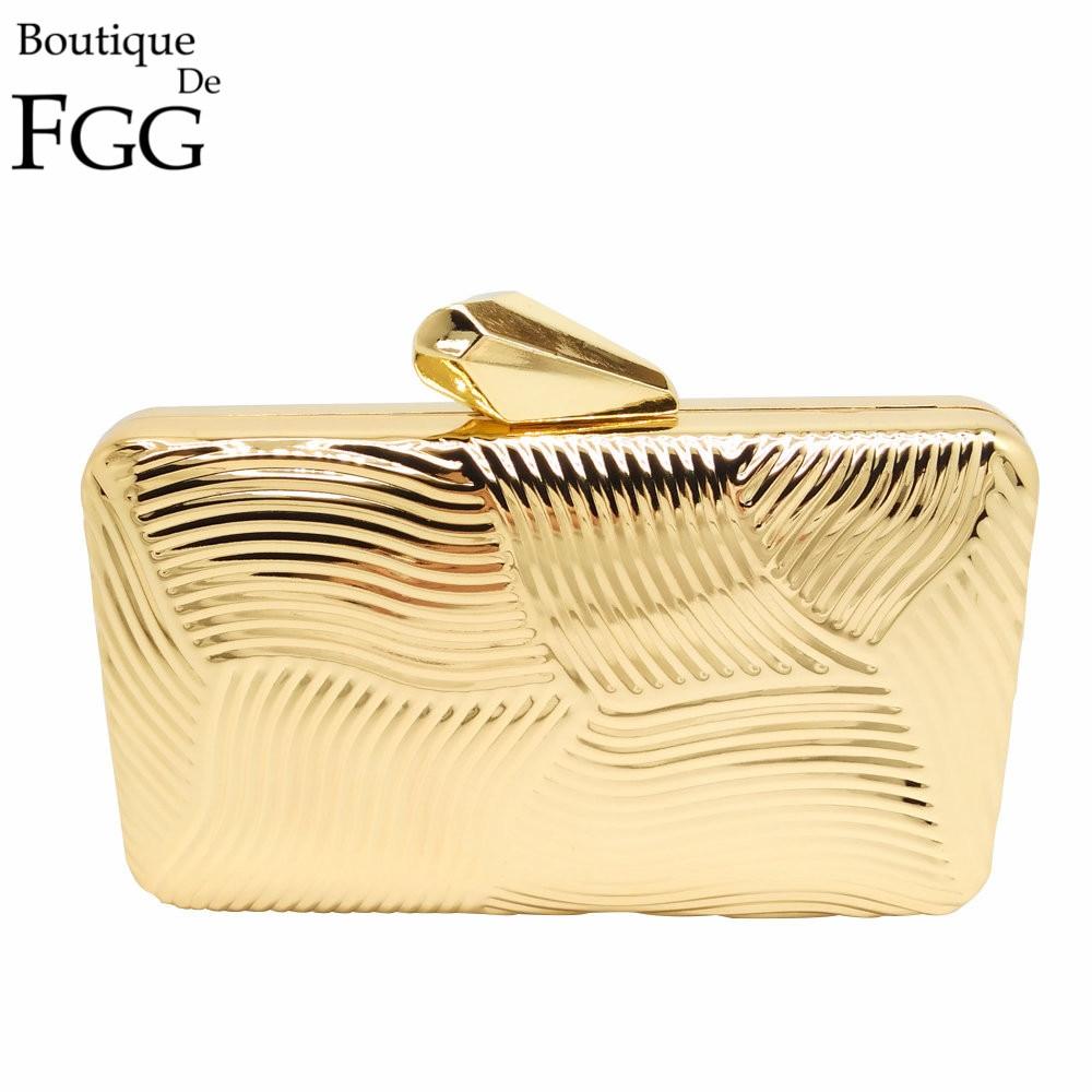 New Fashion Ladies Solid Metal Clutch Handbag European Brand Women Shinny Minaudiere Gold Plated Evening Bag Ladies Dinner Purse<br><br>Aliexpress