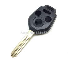 10pcs/lot 3 +1 Button Replacement Car Blank Remote Case Fob Cover For Subaru no chip inside(China)