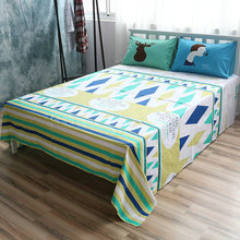 Cotton Bed Linen bed sheet painting designs Sheet Sets Modern Flat Sheet Queen Fitted Sheet Deer Pillow Case Beddig Sets