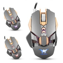 Combaterwing CW30 3200DPI Wired Gaming Mouse Mice 7 Buttons 1000Hz Return Rate Weight Tuning Optical mouse USB for Gamer(China)