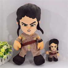free shipping 1pcs Original Star Wars The Force Awakens Rey plush stuffed dolls,20cm,45cm for your choose