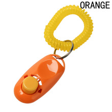 New Style 1 Pcs Mini Dog Pet Click Clicker Training Trainer Aid Guide(China)