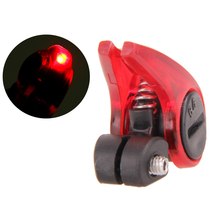 Road Mountain Bicycle Brake Light Safety Road Bike Warning LED Light Folding MTB Cycling Suitable for V Brakes Automatic Control