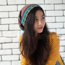 New Autumn High Quality Warm Knitted Hats Crochet Beanie Autumn Women Woolen Hat Earflap Caps Scarf Hat HO661711(China)