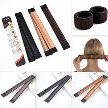 New Girl Hair Donut Former Foam French Twist Magic Tool Bun Maker DIY Hair Styling Tools
