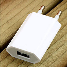 Hot sale 5 colors USB EU Plug AC Wall Charger Power Adapter for Samsung Universal Mobile iPhone(China)