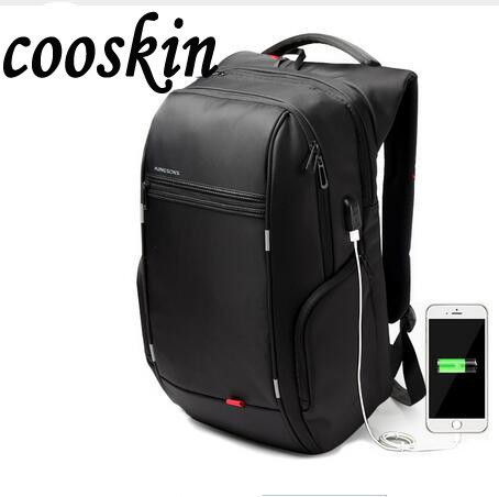 Brand External USB Charge Computer Bag Anti-theft Notebook Backpack 15.6 inch Waterproof Laptop Backpack for Men Women<br>