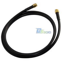 New 1 Pic 3ft SMA Male to SMA Male Plug M-M Pro RF Coax Adapter Cable Pigtail LMR195 new High Quality