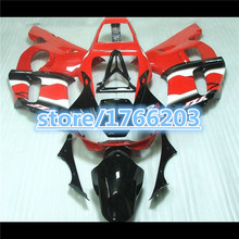 HOT SALE Fairing Set for  YZF-R6 1998 2002 98-02 1998-2002 98 02 R6 99 00 01 red white black  YZF 98 02 YZF 98  1998-2002BBF
