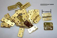 Wooden Hinge / Small Box Hinge  / Metal Hinge / 18 * 16MM Small hinge 50PCS