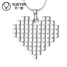 Femal Jewelry silver plated pendant Necklace crystal Necklace fashion jewelry Classic Chokers Necklaces Jewelry supplier