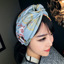 women vintage 50s Geisha rockabilly pin up style hair accessories bandana bandeau cheveux scarf foulard cheveux femmes mujer