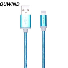 QUWIND 1.5M 5FT High Quality Flat Data Charging Cable for iPhone 5 6 6S 6Plus 7 iPad mini iPad Air