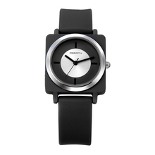 Online Shopping REBIRTH Brand Square Silicone Women Sports Watch Quartz Casual Women Clock RE060