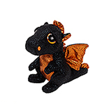 "Pyoopeo Ty Beanie Boos 6"" 15cm Merlin Dragon Plush Regular Stuffed Animal Collectible Soft Doll Toy"