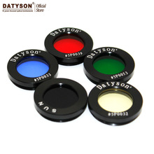"1.25"" Astro Filters for Astronomical Telescopes Oculares Lens Planets Nebula Filter M28x0.6 Metric Fine Thread 5 Colors Optional"