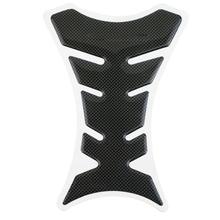 19*5cm 3D Waterproof Rubber Carbon Fiber Tank Pad Tankpad Protector Sticker Universal - Shenzhen HOT Technology Ltd. store