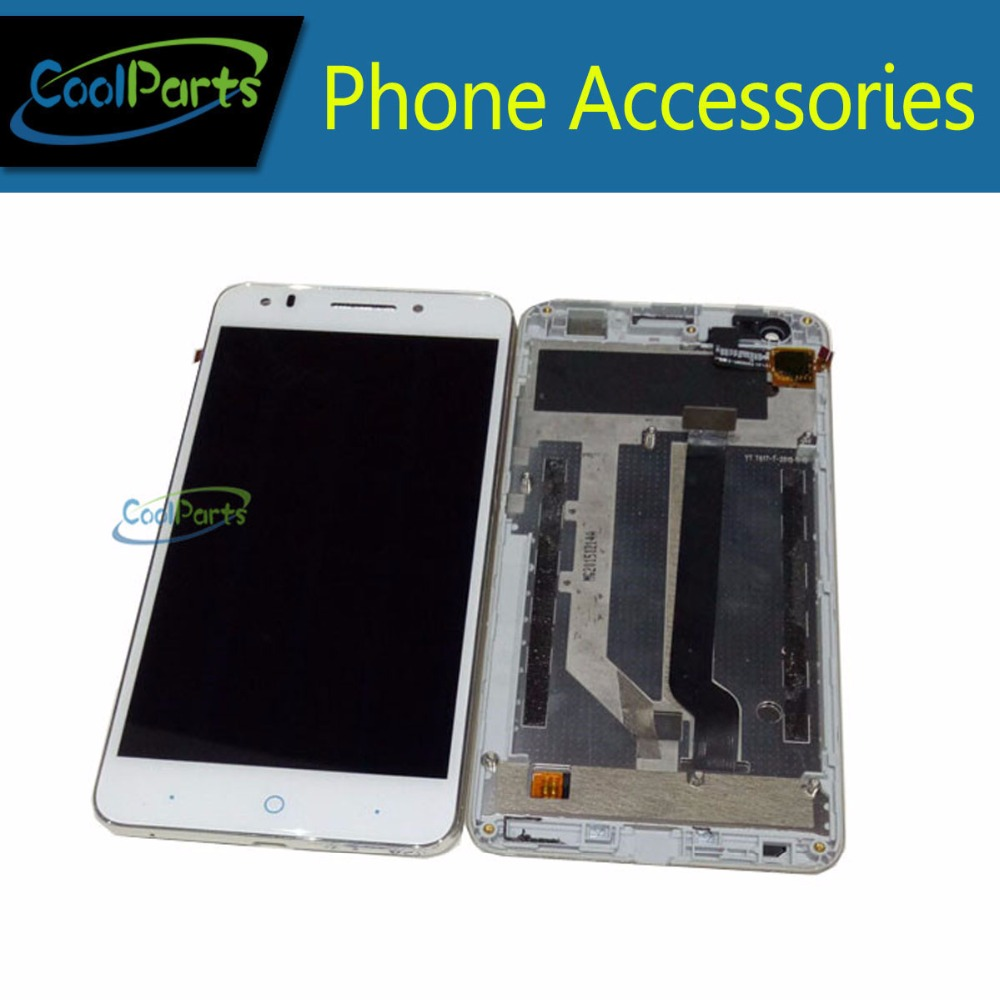 High Quality Black White Color For ZTE Blade A570 LCD Display and Touch Screen Digitizer With Frame 1pc/Lot. <br><br>Aliexpress