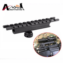 Alloy AR15&M16 20mm Scope mount Weaver Rail for Carry Handles Airsoft Shooting Hunting Tactical Quick Release Rifle Gun Rail BK#(China)