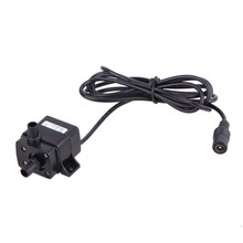DC 12V Brushless Water Pump Fish Aquatic Pet Supplie IP68 3m 240L/H Ultra Quiet Brushless Motor Submersible Pool ABS Water Pump